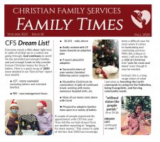 CFS Dream List!